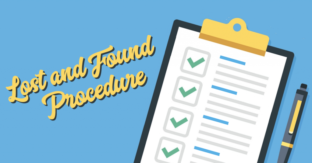 Lost and Found Procedure